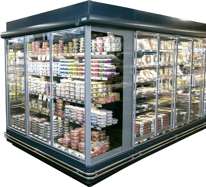 an example of a commercial fridge